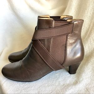 Cole Haan 7.5 B genuine leather ankle boots